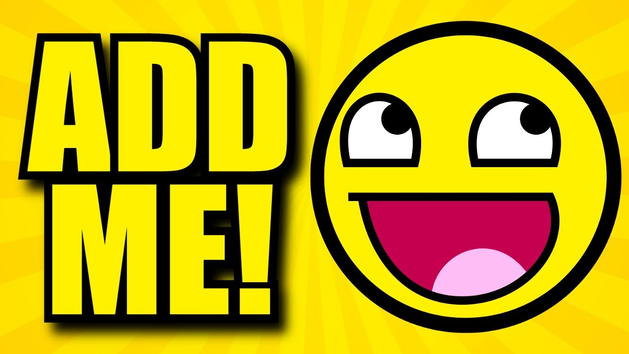 Add Me Smiley Facebook Cover Picture