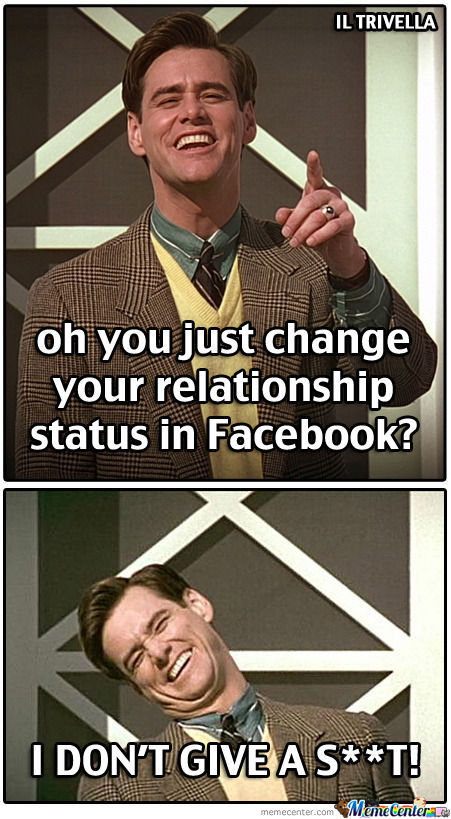 ... You Just Change Your Relationship Status In Facebook Picture For