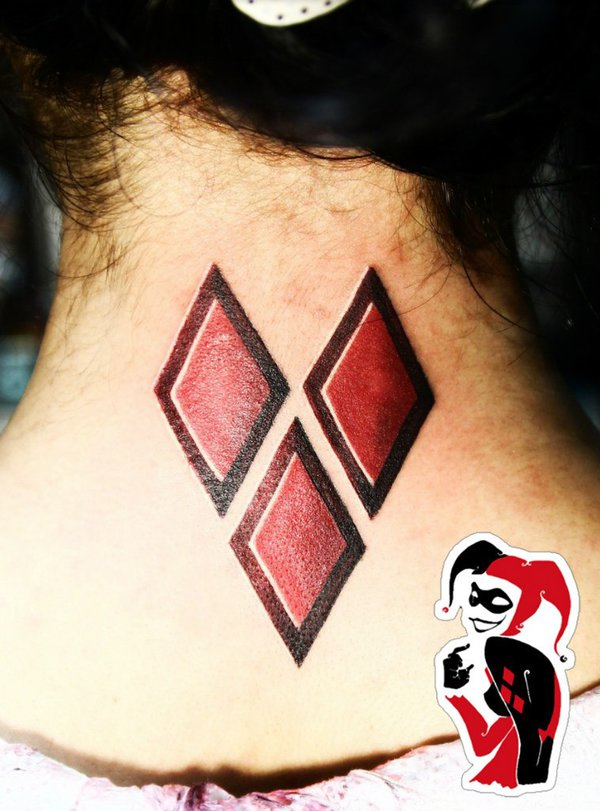 Heart Shaped Diamond Tattoo images  Hd Image Galleries on